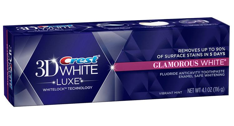 Kem Đánh Răng CREST 3D WHITE LUXE GLAMOROUS WHITE 116G