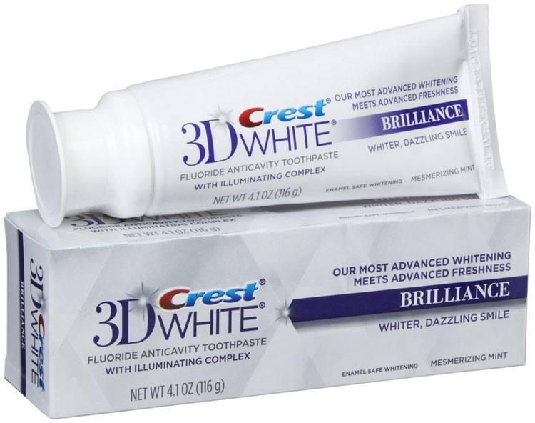 Kem Đánh Răng  Crest3D White Brilliance 116G