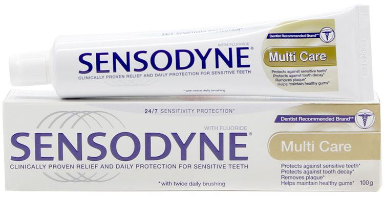 Kem Danh Rang Sensodyne Multi Care