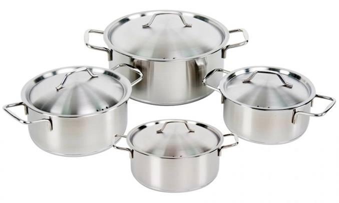 Nồi inox 3 đáy Happy Cook EL08IH (EL-08IH)