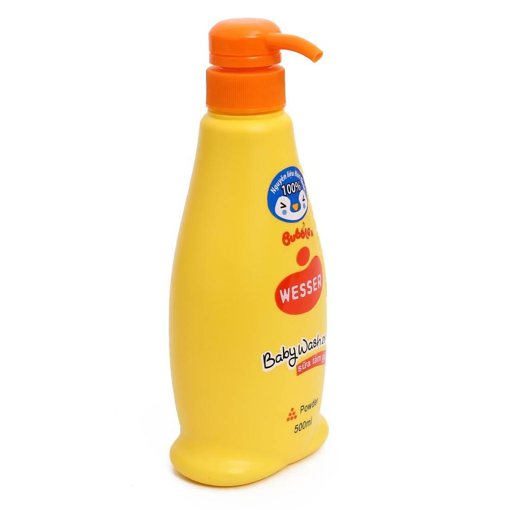 Sữa tắm gội Bubble Hương Phấn 500ml
