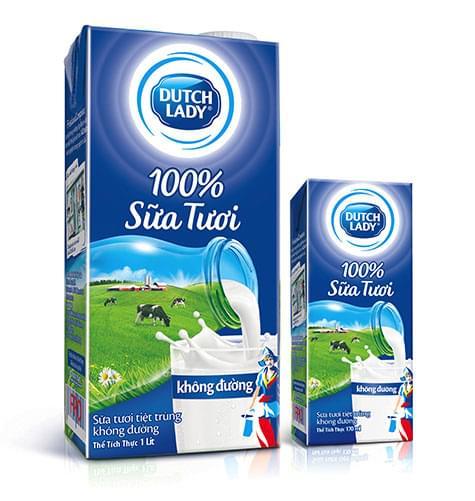 Sữa tươi Dutch Lady
