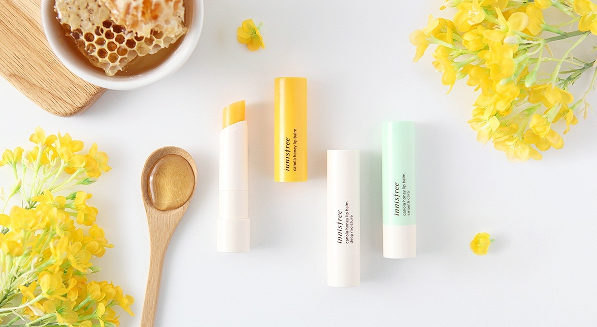 Son dưỡng môi Innisfree Canola Honey Lip Balm​