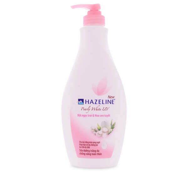 Hazeline Pearly White UV Whitening Body Lotion