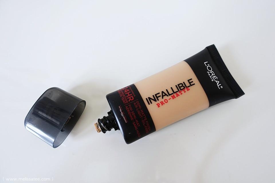 Kem Nền Kiềm Dầu – L'Oréal Infallible Pro-Matte 2 Hour Foundation