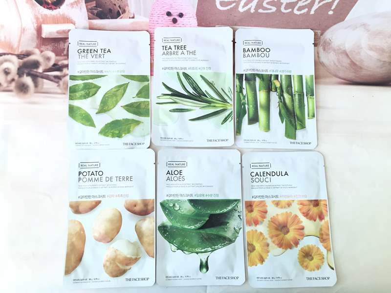 Mặt Nạ Giấy The Face Shop Real Nature
