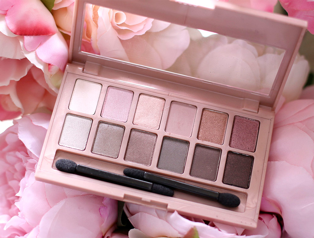 Phấn Mắt Maybelline The Blushed Nudes Palette