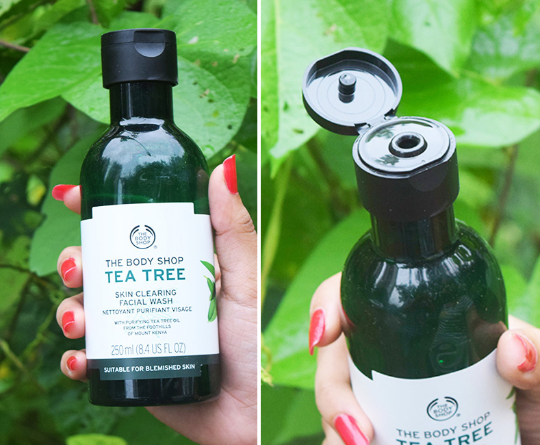Sữa Rửa Mặt Trị Mụn The Body Shop Tea Tree Skin Clearing Facial Wash