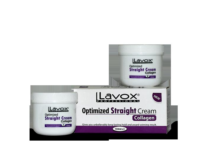 Thuốc Duỗi Tóc Lavox Strong Màu Trắng