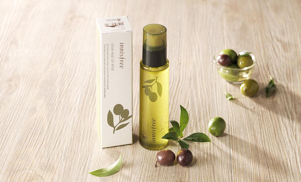 Xịt Khoáng Dưỡng Ẩm Innisfree Olive Real Oil Mist