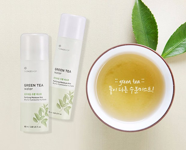 Xịt Khoáng Green Tea Water Moisture Mist