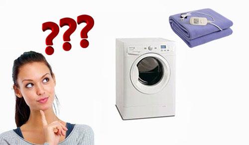 Chăn Điện Có Giặt Được Không?