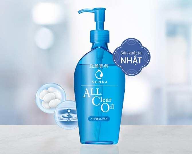 Dầu Tẩy Trang Senka Perfect All Clear Oil