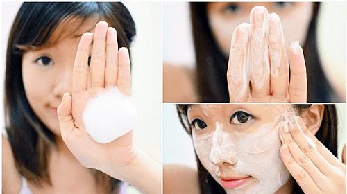 Cách Sử Dụng Sữa Rửa Mặt