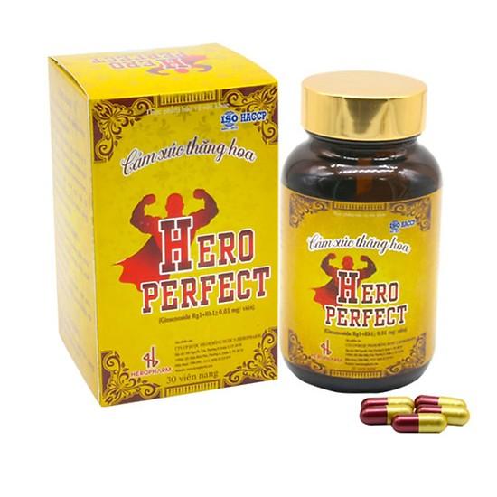 Thực Phẩm Chức Năng Hỗ Trợ Tăng Cường Sinh Lý Nam Hero Perfect