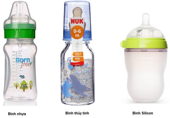 Chất liệu bình sữa