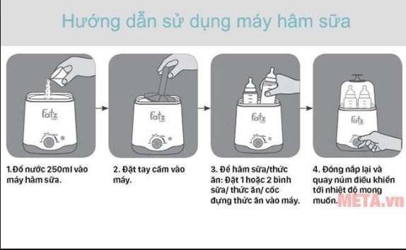 Sử Dụng Máy Hâm Sữa